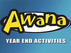 Awana Upcoming Activities