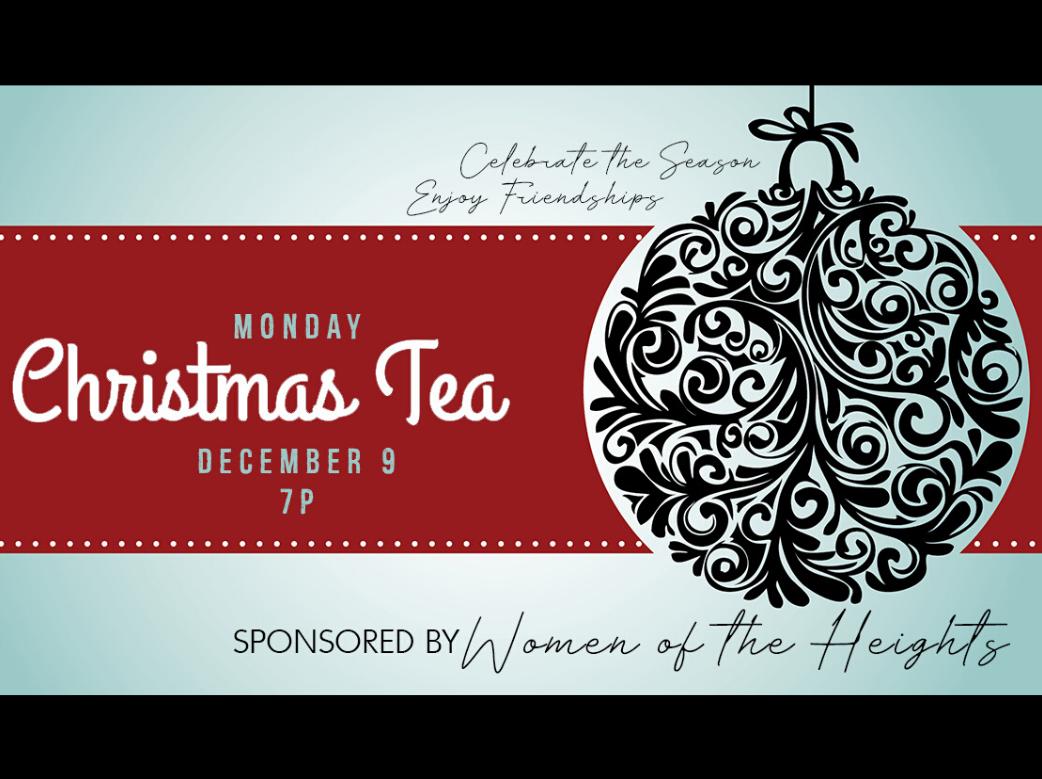 WOH Ladies Christmas Tea
